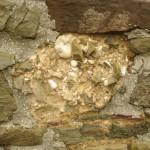 Akveduko statybinės medžiagos Wasemer bokšto sienoje