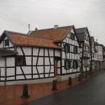 Bachstraße ir Blindgasse gatvės