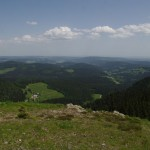 beveik nuo Feldberg kalno viršūnės