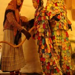 Fasnacht tradicijos ekspozicija Niggel bokšte