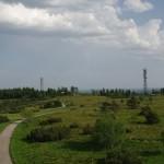 Aukštapelkė nuo Bismarck bokšto