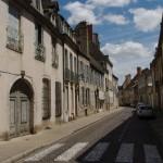 Beaune gatvelės