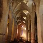 Kreivas bažnyčios interjeras