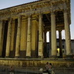 Romėnų šventykla (Temple d'Auguste et de Livie)