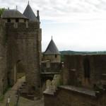 Carcassonne dvigubos gynybinės sienos