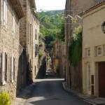Alet-les-Bains gatvė