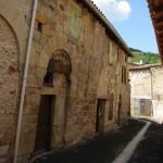 Alet-les-Bains gatvė ir berods XIII a. namas