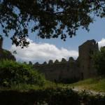 Château de Puilaurens vidinis kiemelis