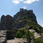 Aukščiau - Puilaurens pilies antroji dalis
