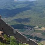 Puilaurens pilies sienos
