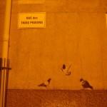 trijų pižonų gatvė