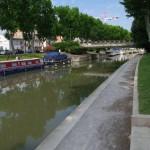 Canal de la Robine - puikiai sutvarkyta viešoji erdvė