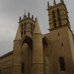 Saint Pierre katedra su įdomiais galingais bokštais