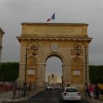 Porte du Peyrou triumfo arka