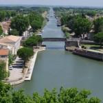 kanalas į Aigues-Mortes