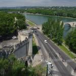 St. Benezet tiltas ir Rhone upė