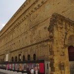 Romėnų teatras iš lauko pusės