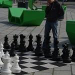 Baubas žaidžia šachmatais
